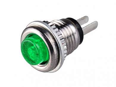 Кнопка  M8 OFF-(ON) RWD-361 (DS-101) 0.5A/125V 2c -зеленая-